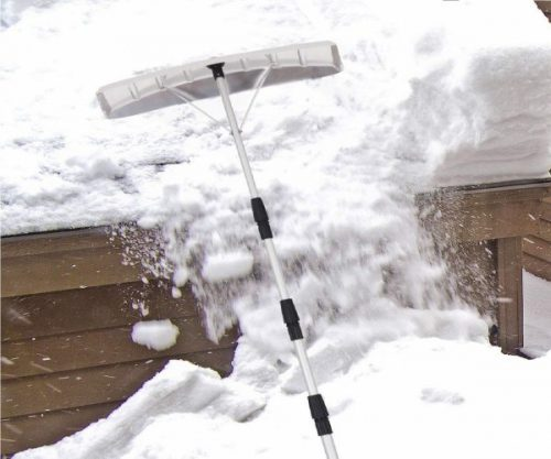 5.Goplus-20-Snow-Roof-Rake-Twist-N-Lock-Adjustable-Snow-Shovel-with-6-x-25-Blade-Roof-Snow-Removal-Tool