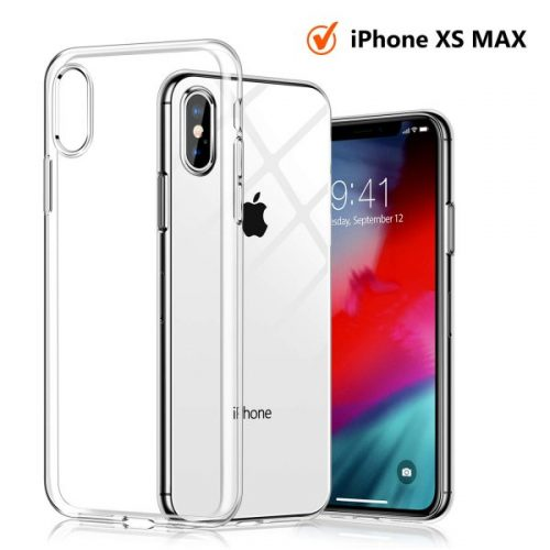 6. TORRAS Crystal Clear iPhone Xs Max Case, Soft TPU Thin Cover Slim Gel Phone Case for iPhone Xs Max