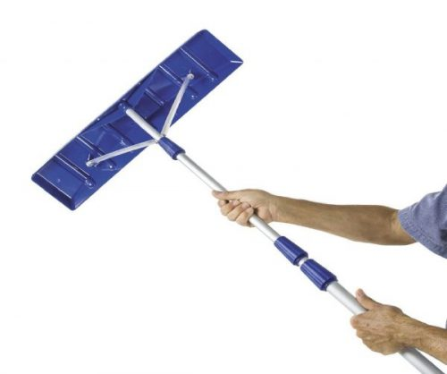7.Snow-Joe-21-Twist-n-Lock-Telescoping-Snow-Shovel-Roof-Rake-w-6-x-25-Poly-Blade-RJ204M
