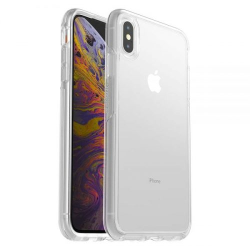 8. OtterBox SYMMETRY CLEAR SERIES Case for iPhone Xs Max - Retail Packaging - CLEAR