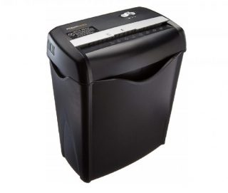 1.AmazonBasics 6-Sheet Cross-Cut Paper and Credit Card Home Office Shredder