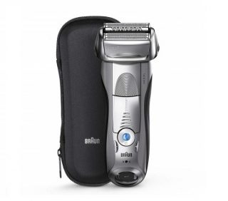 1.Braun Series 7 Electric Shaver for Men 7893s, Wet & Dry, Integrated Precision Trimmer, Rechargeable and Cordless Razor, with Travel Case – Silver