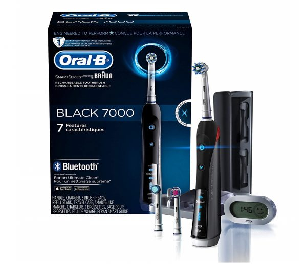 1.Oral-B 7000 SmartSeries Rechargeable Power Electric Toothbrush