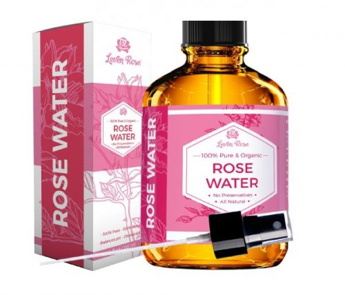 1.Rose Water Facial Toner by Leven Rose, Pure Natural Moroccan Rosewater