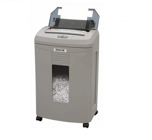 11.Boxis AF110 AutoShred 110-Sheet Micro Cut Paper Shredder