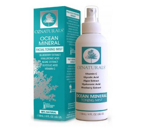 2.OZNaturals Facial Toner- This Natural Skin Toner Contains Vitamin C