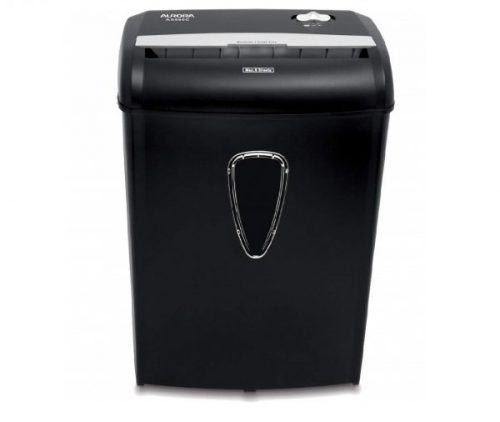 4.Aurora AS890C 8-Sheet Cross-Cut Paper Credit Card Shredder with Basket