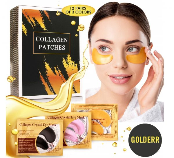 5.Under Eye Patches - 24k Gold Eye Mask Anti-Aging Eye Treatment