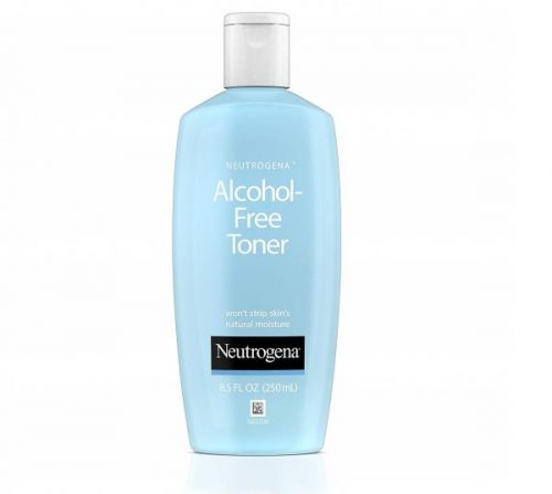 7.Neutrogena Oil- and Alcohol-Free Facial Toner, with Hypoallergenic Formula, 8.5 fl. oz