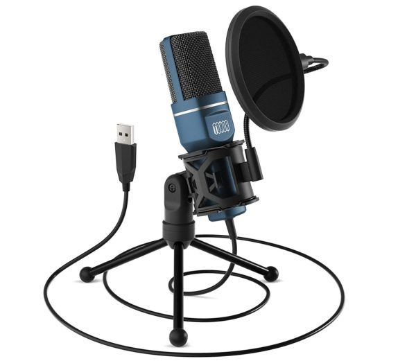 7. USB Gaming Microphone, TONOR Computer Condenser PC Mic