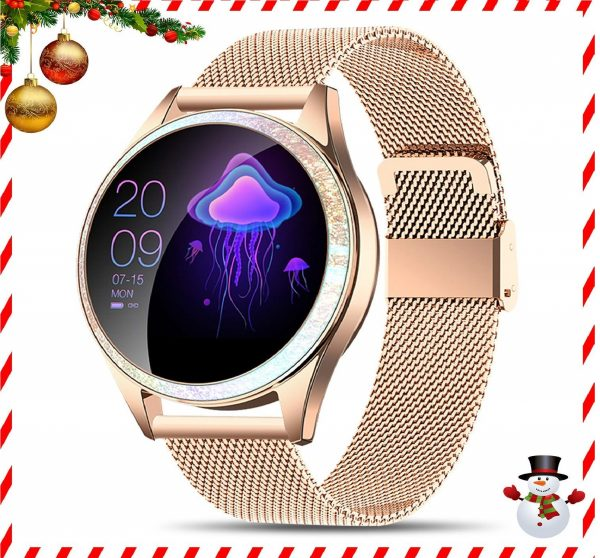 10.Yocuby Smart Watch for Women,Bluetooth Fitness