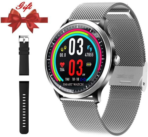 11.Smart Watch for Android iOS Phone-Fitness Tracker Wrist