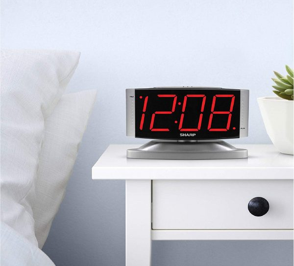 13.SHARP Home LED Digital Alarm Clock