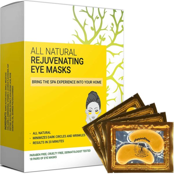 14. All Natural Under Eye Patches & Masks (18 Pairs) - Anti Aging Treatment for Bags