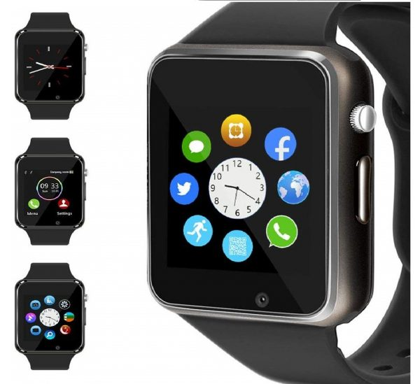 4.WJPILIS Smart Watch Touchscreen Bluetooth Smartwatch