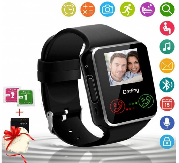 5.Android Smart Watch Bluetooth Smart Watch with Camera SIM Card
