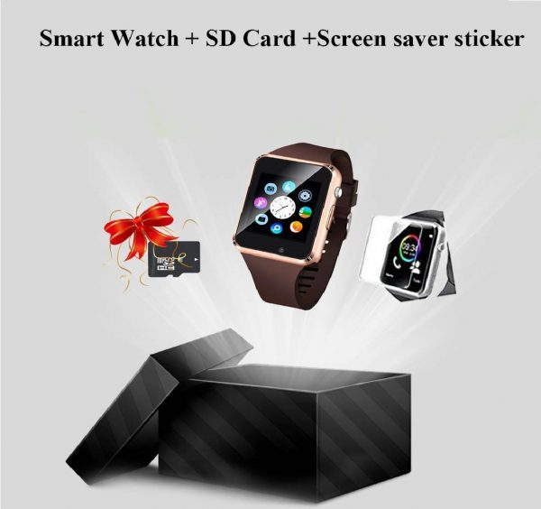 6.Junwei Smart Watch Color Touch Screen Bluetooth