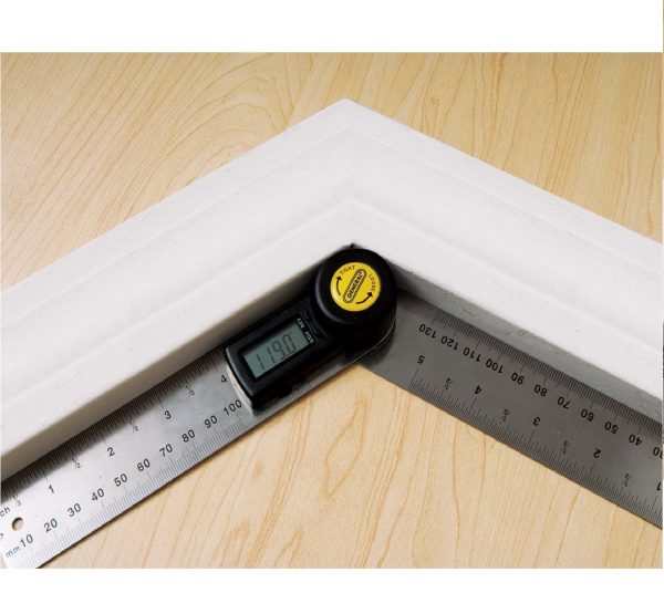 3.General Tools 822 Digital Angle Finder Rule, 5-Inch