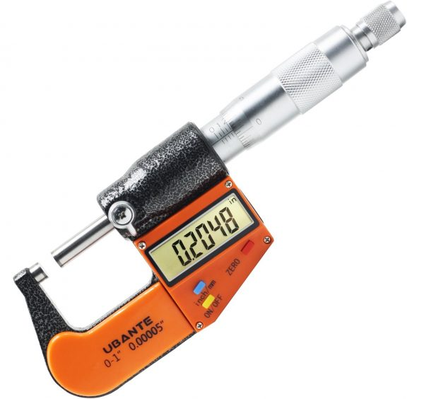 8.Digital Electronic Micrometer with Large Display
