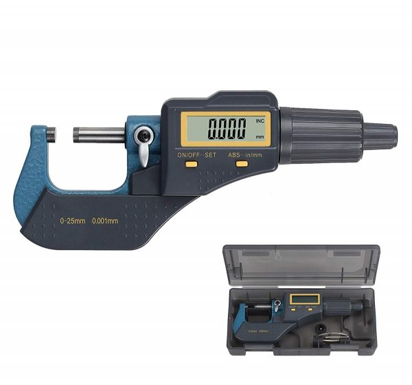 9.Digital Outside Micrometer 0-1 Electronic Micrometer Inch