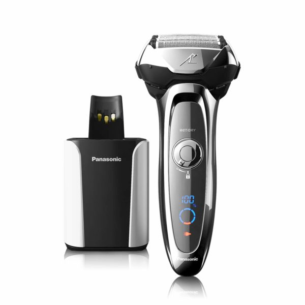 3.Panasonic Arc5 Electric Razor for Men, 5 Blades Shaver & Trimmer, shave sensor Technology