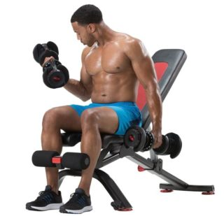 3. Bowflex SelectTech Adjustable Bench Series
