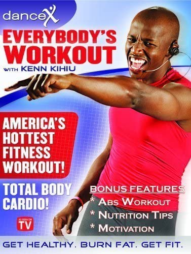 4. DanceX Fun Total Body Cardio Fitness DVD - Everybody's Workout Home Exercise DVD