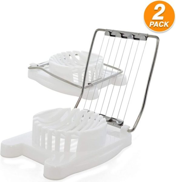 4. Ram-Pro Egg Slicer Multipurpose Stainless Steel Wire Egg Slicer Heavy Duty Egg Dicer