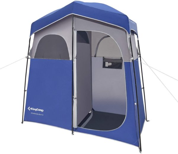 7. KingCamp Oversize 2 Persons Outdoor Easy Up Portable Dressing