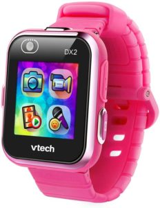 pink smartwatch for baby girl