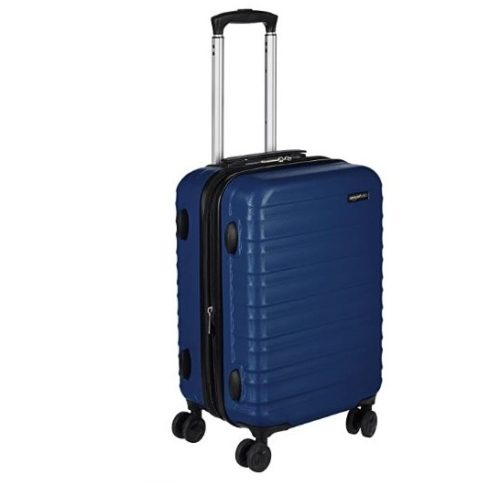 1.AmazonBasics Hardside Spinner, Carry-On, Expandable Suitcase Luggage with Wheels