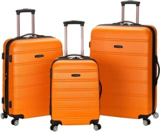 10.Rockland Melbourne Hardside Expandable Spinner Wheel Luggage