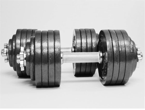 12.TELK Adjustable Dumbbells, Available for 45, 65, 105 to 200 lbs