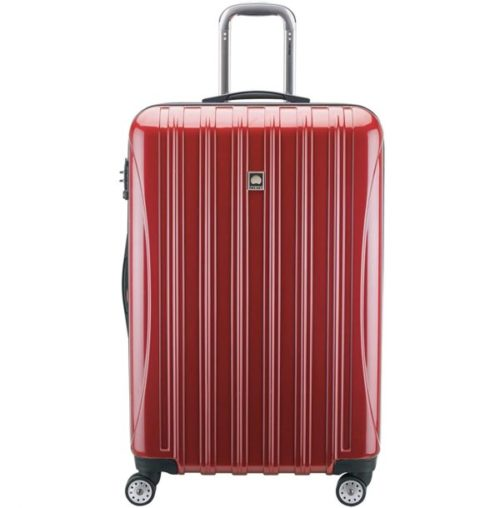 13.DELSEY Paris Helium Aero Hardside Expandable Luggage with Spinner Wheels