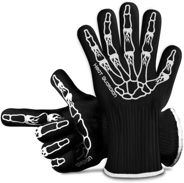 4. Heat Guardian Heat Resistant Gloves – Protective Gloves Withstand Heat Up To 932℉