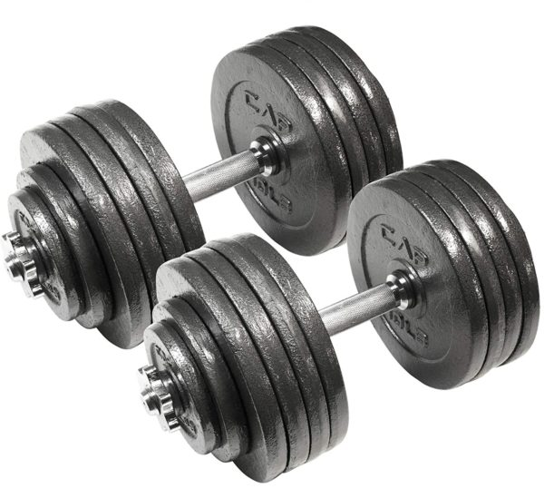 4.CAP Barbell Adjustable Dumbbell Set, 40 to 200 Pounds