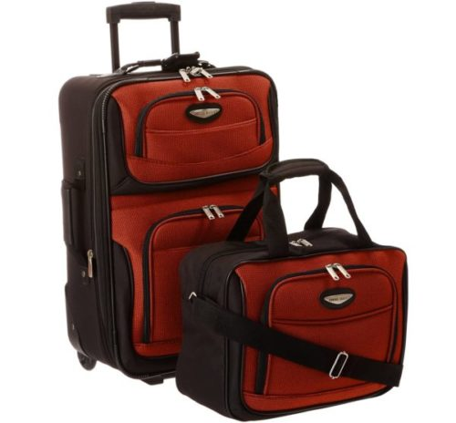 4.Travel Select Amsterdam Expandable Rolling Upright Luggage