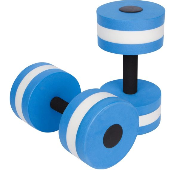 6.Trademark Innovations Aquatic Exercise Dumbells - Set of 2 - for Water Aerobics