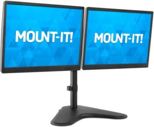 Double Monitor Desk Stand Fits