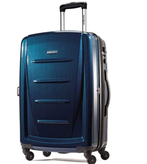 7.Samsonite Winfield 2 Hardside Expandable Luggage with Spinner Wheels