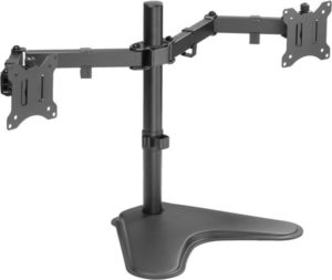 Halter Free-Standing Dual Monitor Desk Stand