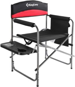 shooting chair with side