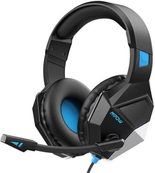 8. Mpow EG10 Stereo Gaming Headset for PS4, PC, Xbox One w Noise-Cancelling Mic