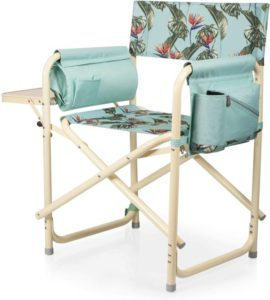 a Picnic Time Brand Outdoor Directors Folding Chair
