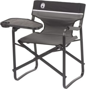 Aluminum Deck Chair with Swivel Table