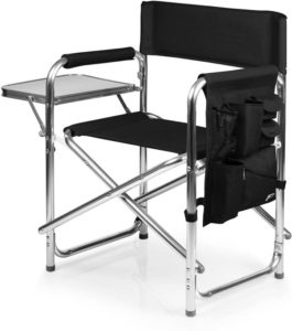 a Picnic Time Brand Portable Folding Sports Director Chairs