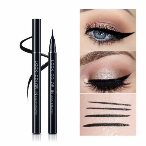 10. UCANBE Black Waterproof Liquid Eyeliner and Professional Makeup Pencil Cruelty-Free
