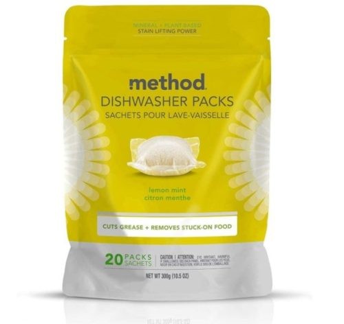 12. Method Power Lemon Mint Dish Dishwasher Soap