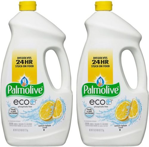 13. Palmolive Lemon Splash Eco-Gel Dishwasher Detergent