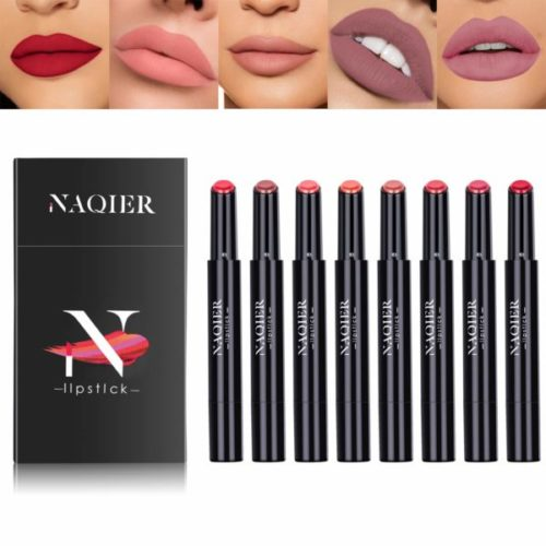 14. NAQIER Matte Waterproof Lipstick Set
